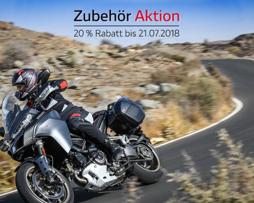 Ducati Zubehör Aktion